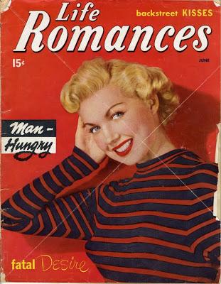 cover,Life Romances, circa 1950