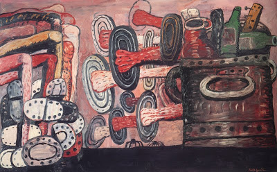 Philip Guston, The Street, 1977[?]
