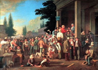 George Caleb Bingham's account of another Missouri election, this one in 1846