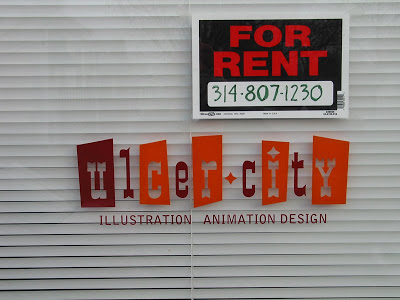 DB Dowd,  Ulcer City logotype , 2506 Sutton Boulevard