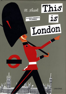 Sasek, cover illustration,  This is London .