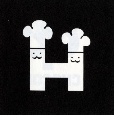 Morton Goldsholl and John Weber of Goldsholl Associates, Holiday Delight Baking Company Logotype, 1965, reproduced in American Trademark Designs by Barbara Baer Capitman, published by Dover Books, 1976