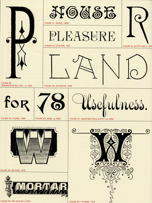 Fancy Typefaces, 1878-1895, Artistic Printing