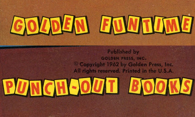 Golden Funtime Punch-Out Books. Golden Press, 1962.