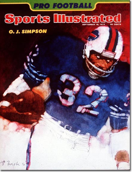 Bernie Fuchs Sports Illustrated cover from 1974