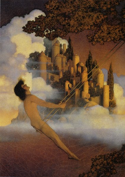 Maxfield Parrish, Dinkybird, 1904