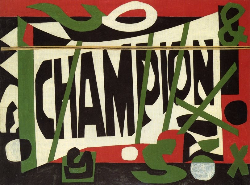 Stuart Davis, Variation on Little Giant Still Life, 1964