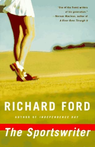 design credit unavailable, Vintage Contemporaries cover design for The Sportswriter, by Richard Ford