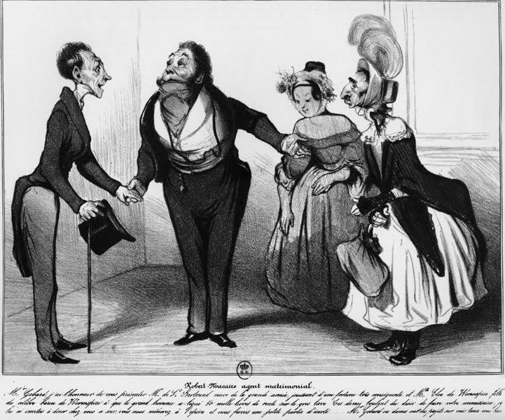 Honoré Daumier,Les 100 Robert Macaire, lithograph, 1838