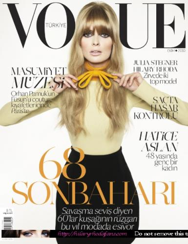 Cuneyt Akeroglu, cover photograph,  Vogue  Turkey, 2010