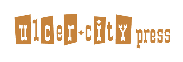 D.B. Dowd and Melanie Reinert, Ulcer City wordmark, 2004, modified 2009