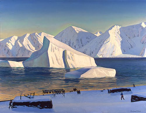 Kent, Early November: North Greenland, oil on canvas, 1933