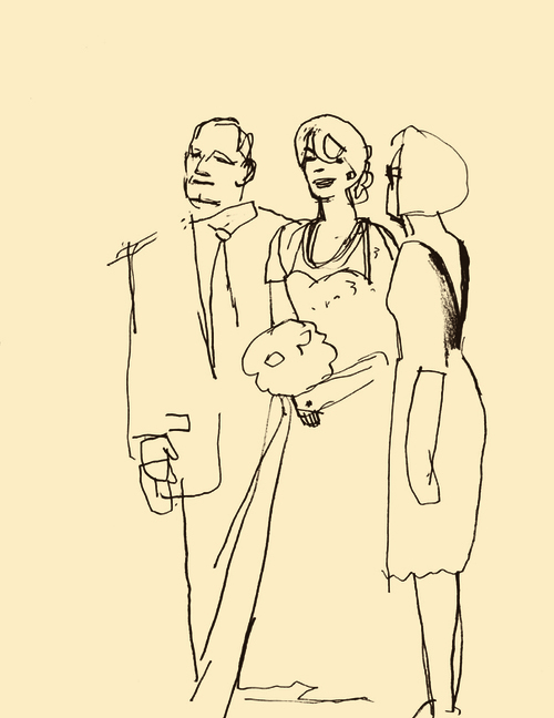 Mom Dad And me Drawing D.b Dowd Robin With Mom And