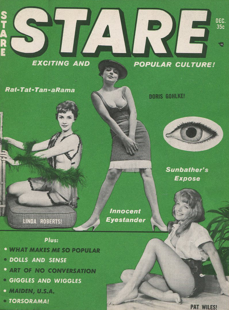Cover illustration  Stare  magazine, December 1961