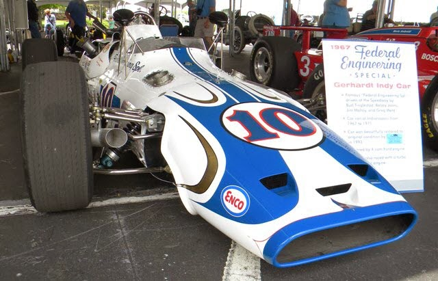historic Indianapolis 500 cars photographed by  Steve Zautke.