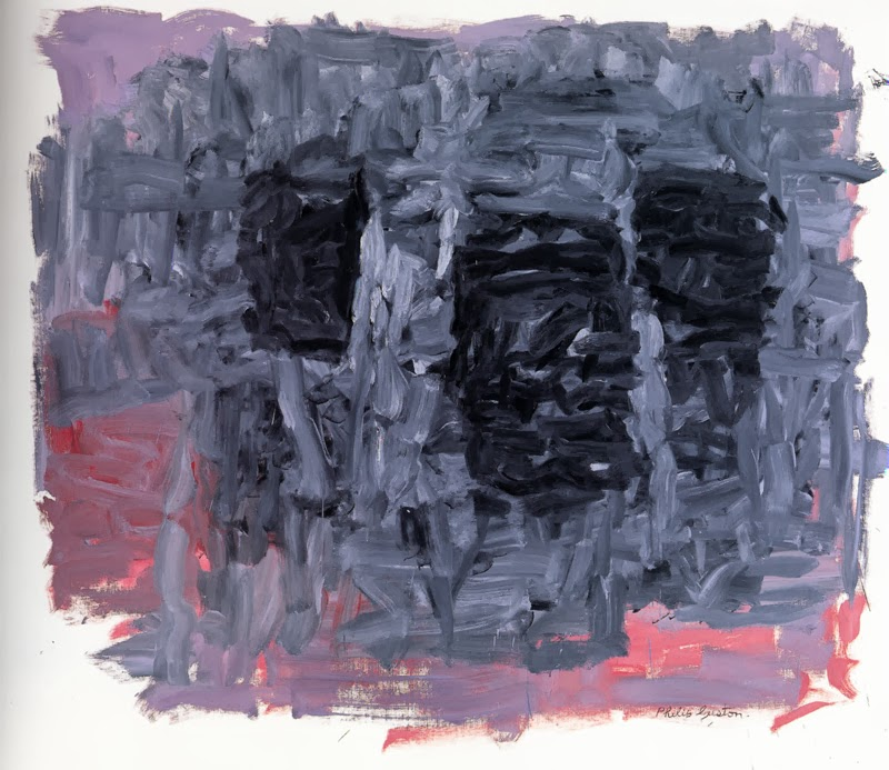 Guston, The Light, oil on canvas, 1964