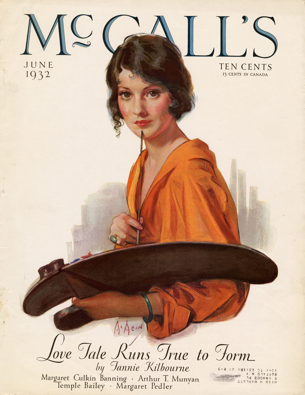 Neysa McMein, Cover Illustration for McCall's. June 1932.