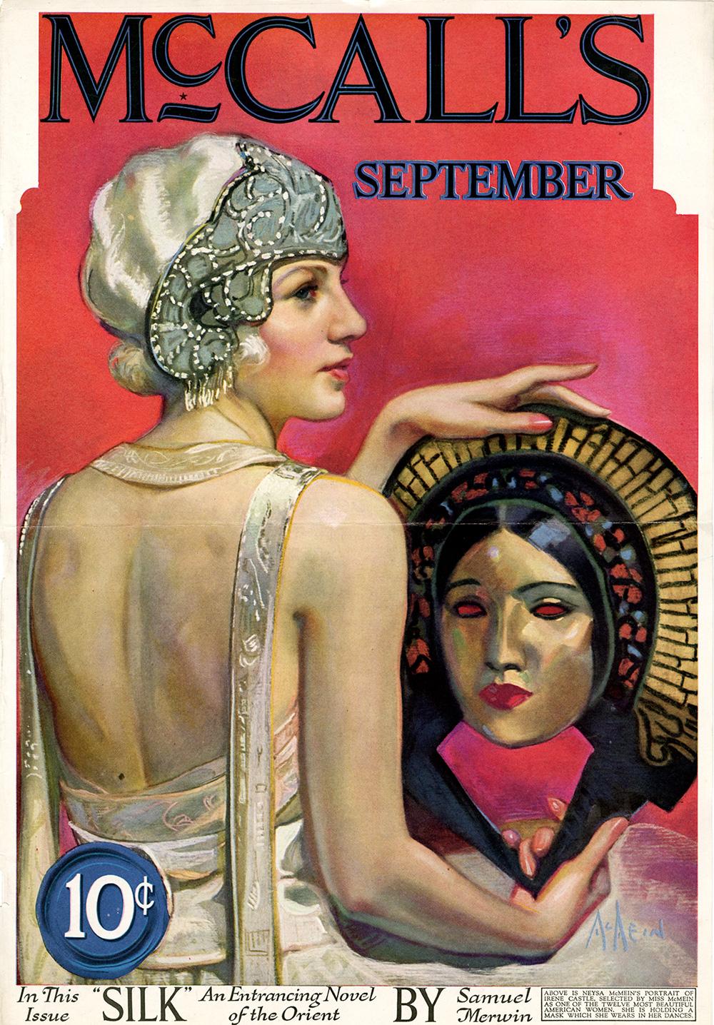 Neysa McMein, Cover illustration for McCalls. September 1923.
