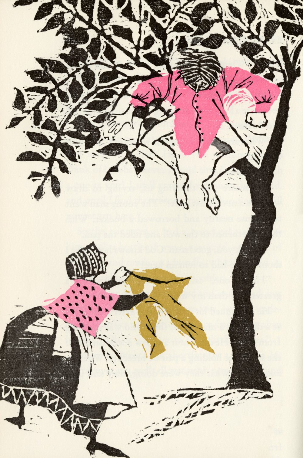 Evaline Ness, illustration from Favorite Fairy Tales Told in Italy. 1965