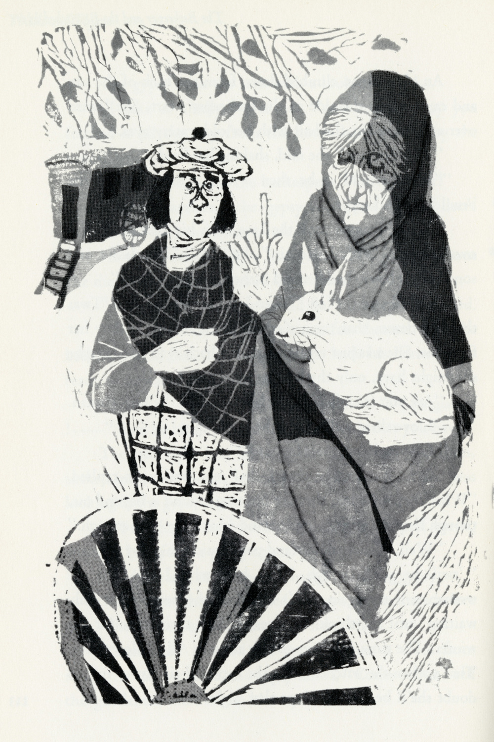 Evaline Ness, illustration from Thistle and Thyme: Tales and Legends from Scotland.