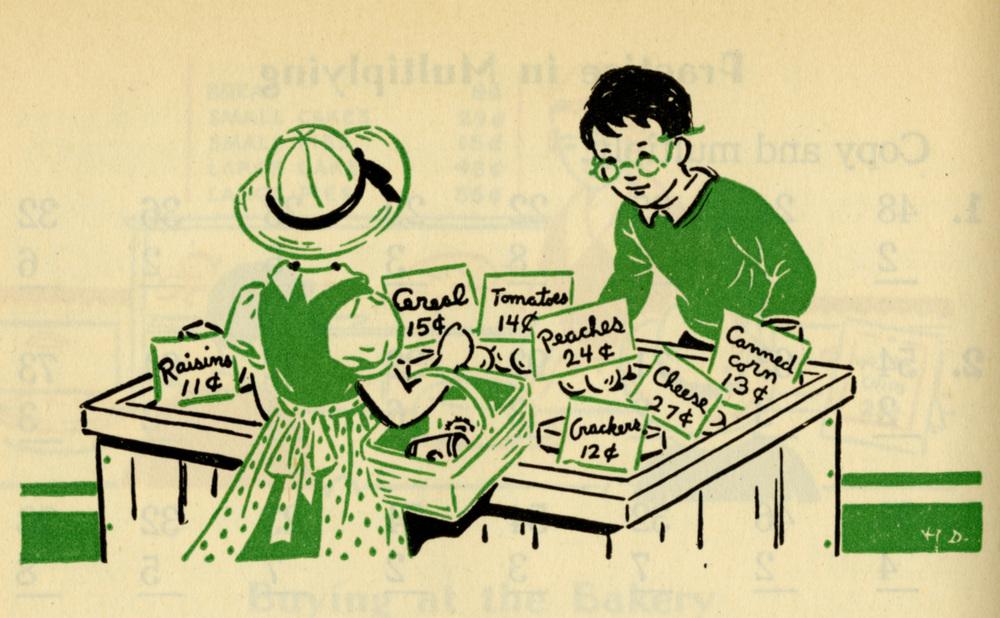 Kay Draper, Living Arithmetic: Grade 3. 1938.