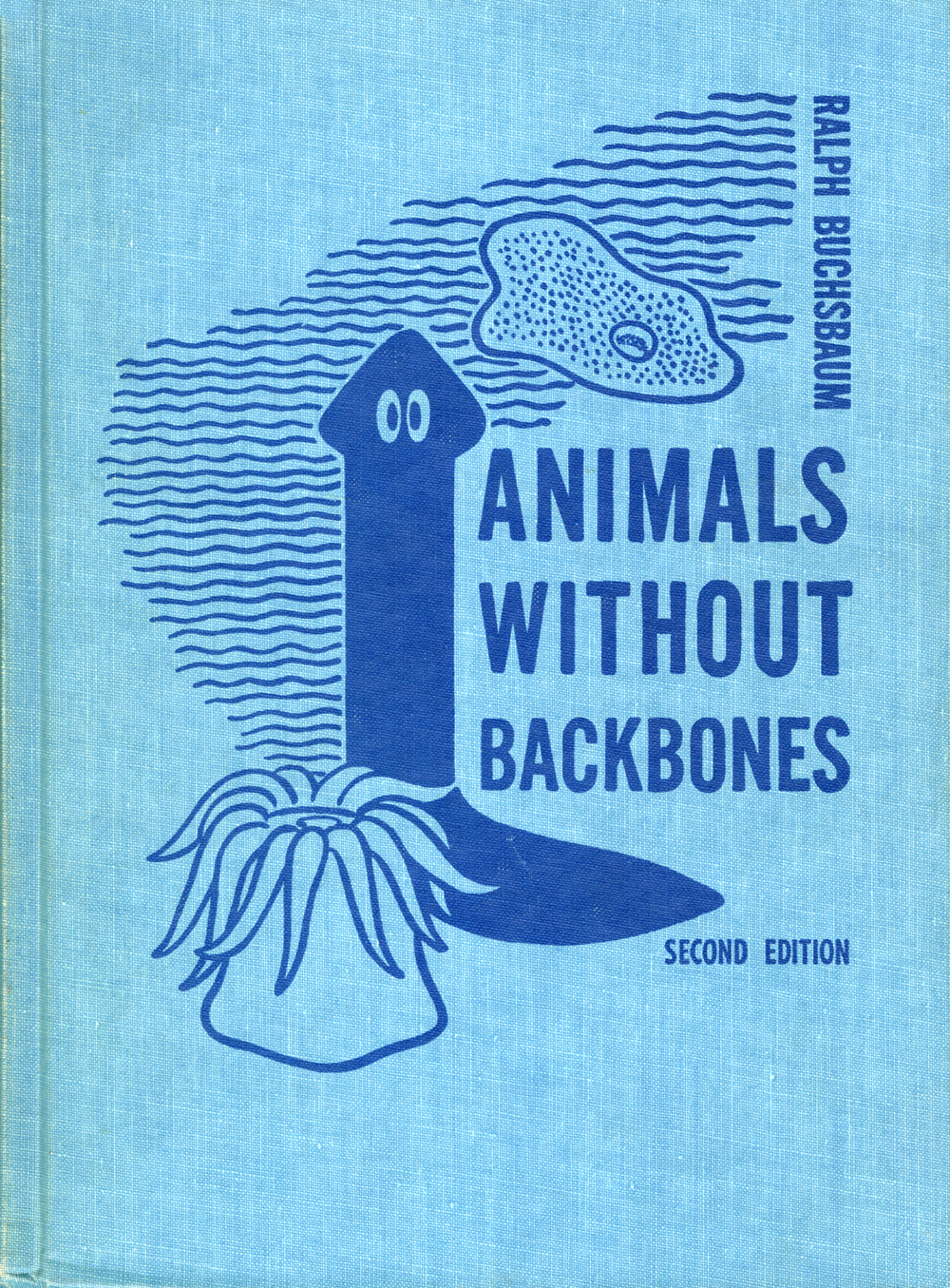 Elizabeth Buchsbaum,Animals Without Backbones (2nd edition). Written by Ralph Buchsbaum.1st Edition published in 1938, 2nd edition in 1948 by University of Chicago Press.