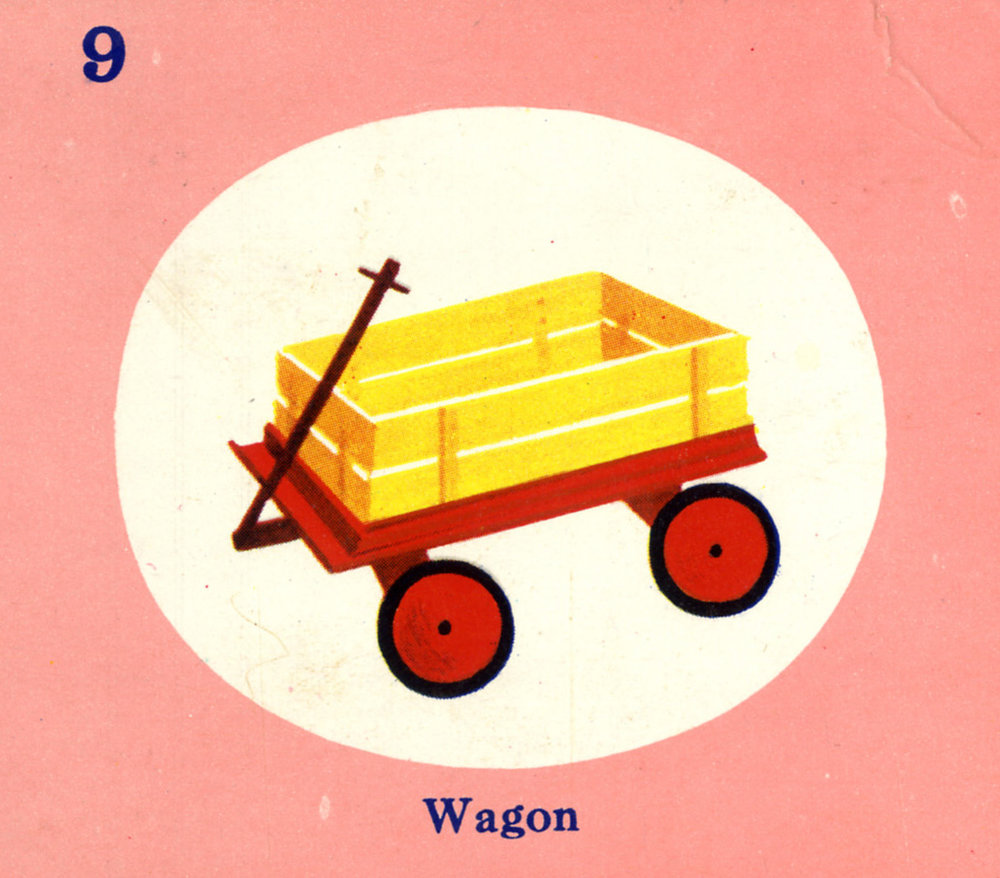 C. Clement, Wagon, circa 1950