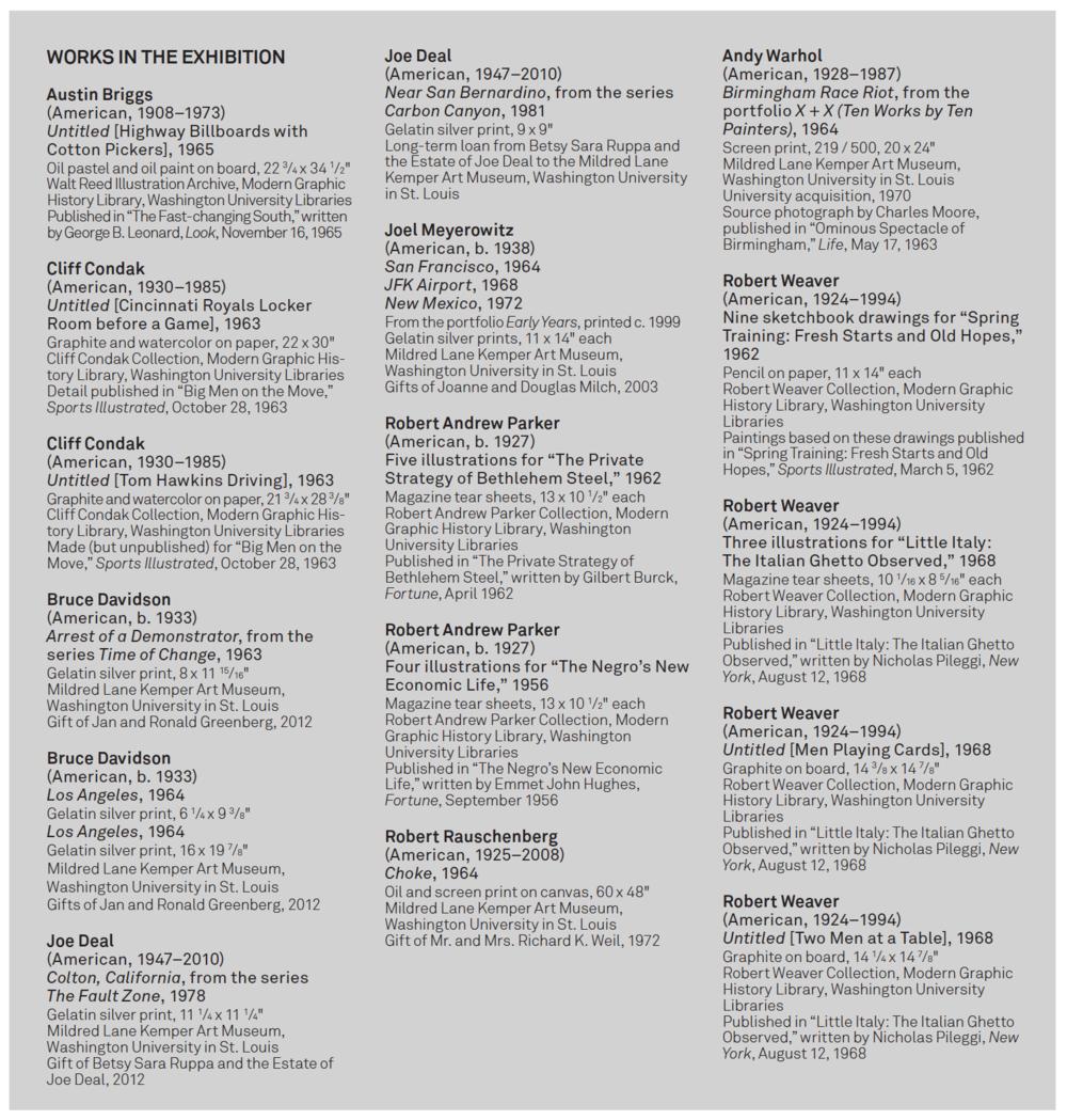Checklist,  Parallel Modes , 2015.