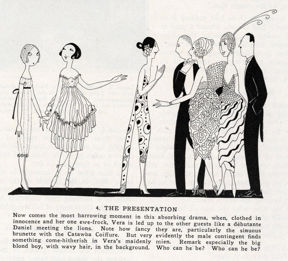 Anne Harriet Fish,  Vanity Fair , February 1921.