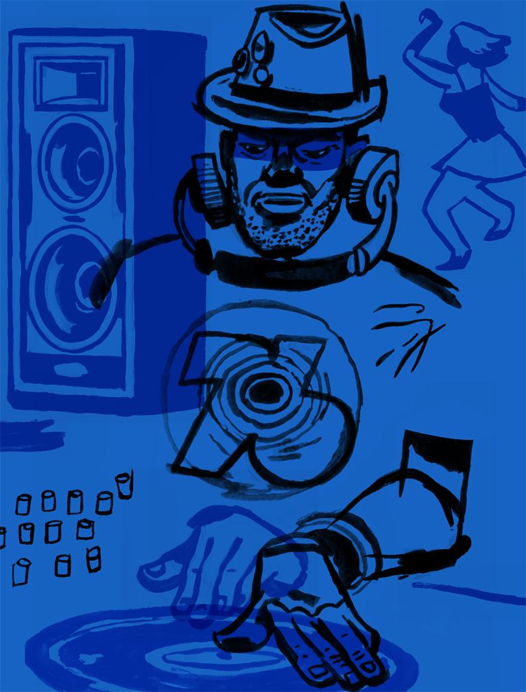 D.B. Dowd,  Dee Jay Dude , Music Series 2014.