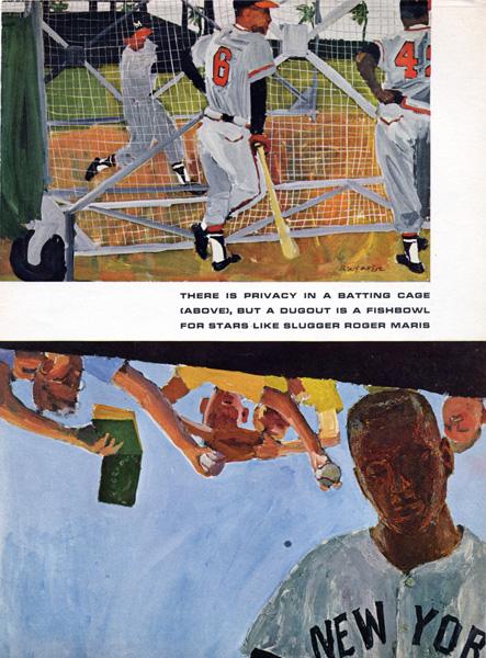 Robert Weaver,  Spring Training , 1962.