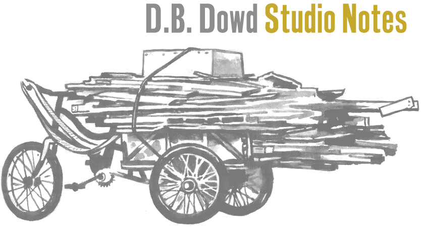 D.B. Dowd / Studio Notes: Writing on Illustration