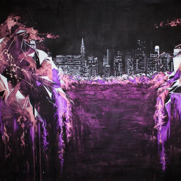 Oscar Lett Mixed media on canvas $9,600.00