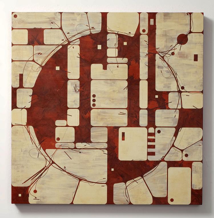 Lee Albert Hill Mixed media on canvas $6,000.00