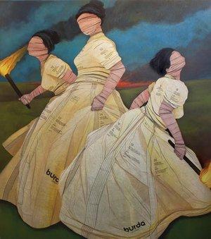 John Westmark Acrylic on Canvas $7,000.00