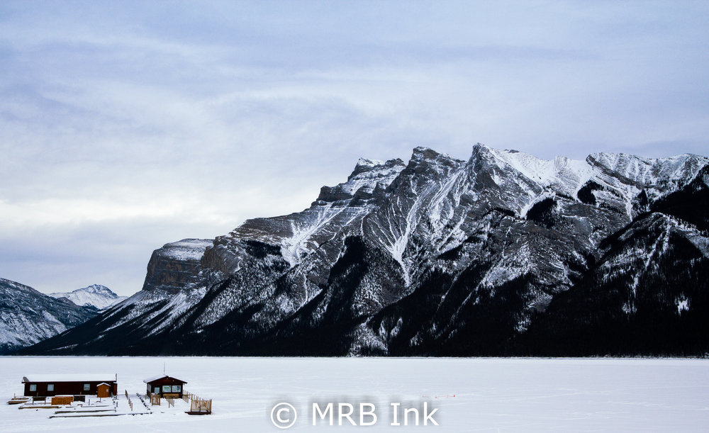 Lake Minnewanka Boat House
