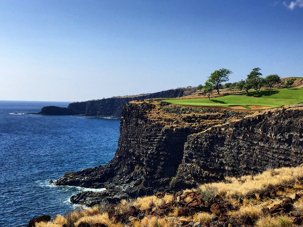 Manele Golf Course - not in Calgary - But you could work here too!