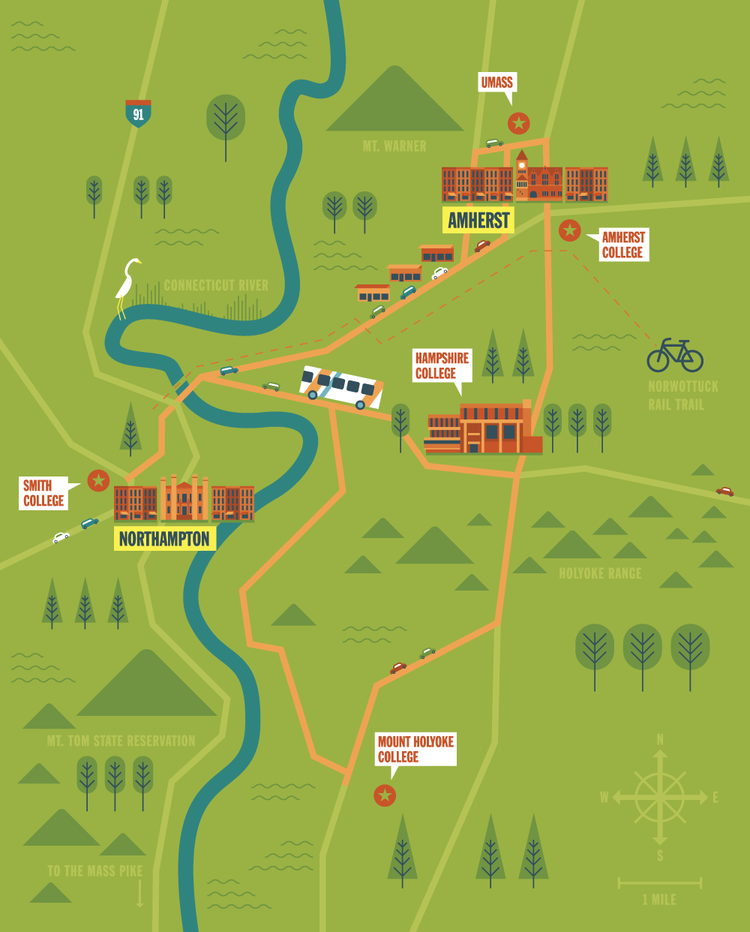 Holyoke Community College Campus Map.I Draw Maps
