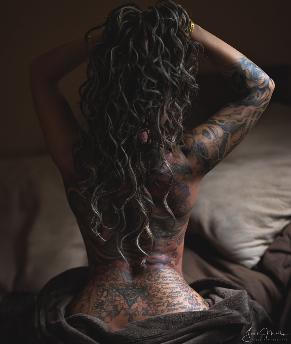 Natural Light Implied Inked Nena