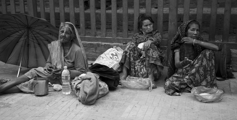 The Three Begging Women