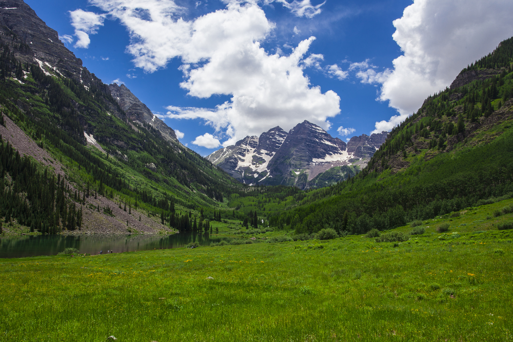 Maroon Bells, Aspen Colorado