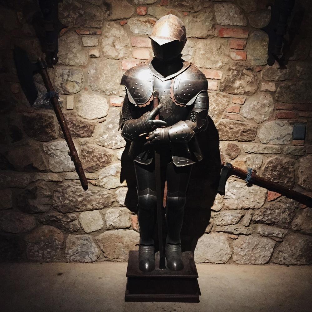 Knight. Castello di Amorosa. Napa Valley.