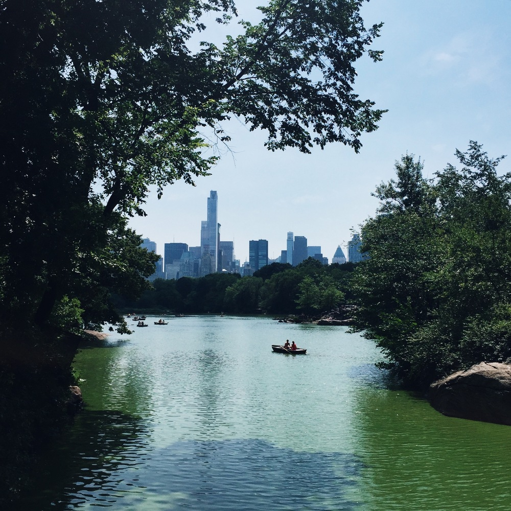Kayaking in Central Park