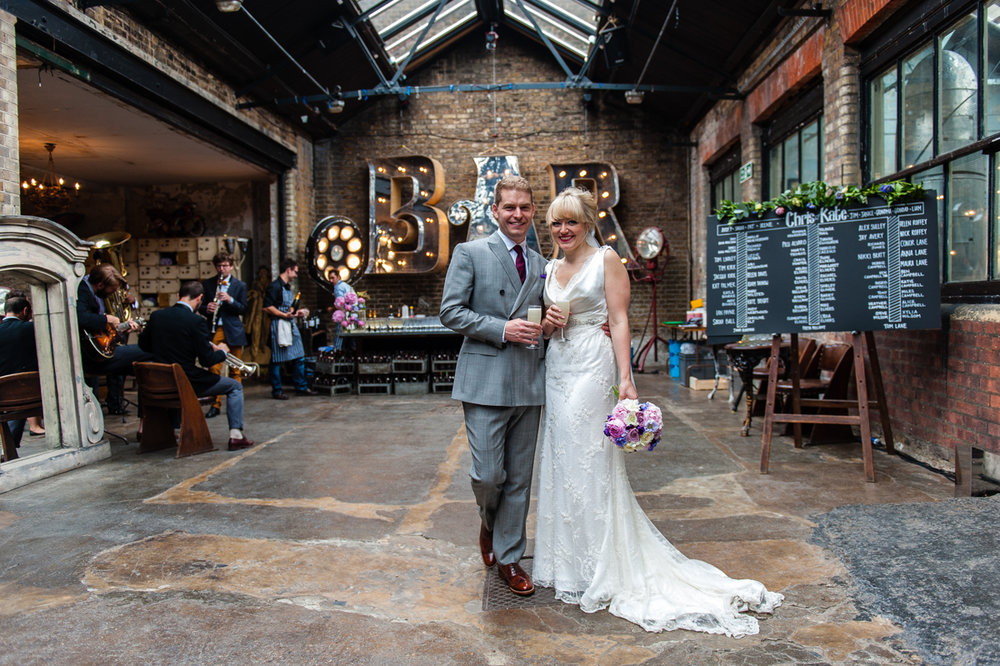 Kate & Chris Wedding - Dalston