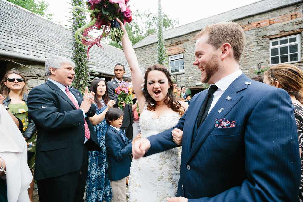Just Married, Bride & groom, Ash Barton, Destination wedding, we did it,London Wedding planning