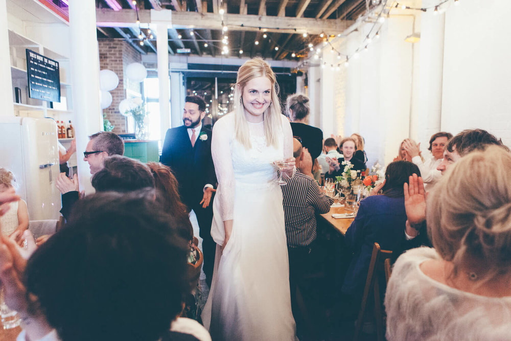 Informal dining, Quirky Venue, Non-traditional wedding planner, London Wedding coordination, Bespoke weddings, Brixton Wedding, Informal,