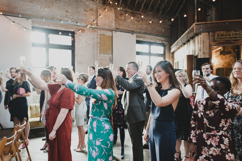 Quirky Venue, Non-traditional wedding planner, London Wedding coordination, Bespoke weddings, Brixton East 1871 Wedding, nonformal, Stylish wedding, Cutting Edge Bride, JoshGooding Photography