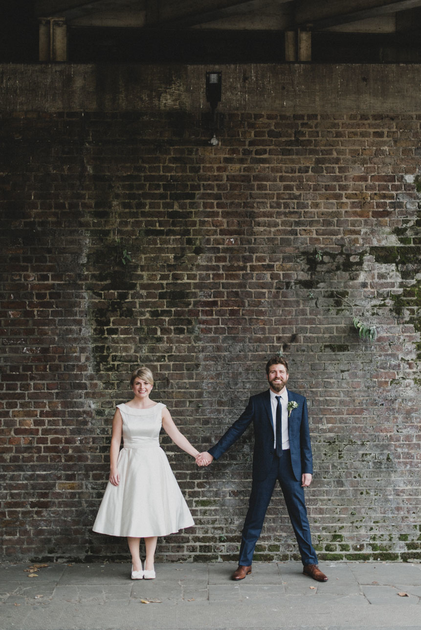 Quirky Venue, Non-traditional wedding planner, London Wedding coordination, Bespoke weddings, Brixton East 1871 Wedding, informal, Stylish wedding, Warehouse wedding