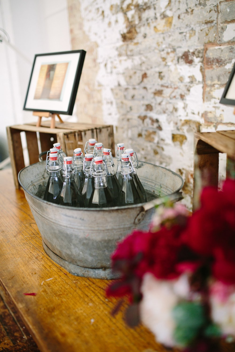 Warehouse Wedding Venue, Non-traditional wedding planner, London Wedding coordination, Event Bar, Bespoke weddings, Shoreditch Wedding, informal, Stylish, Event Planning, Unconventional