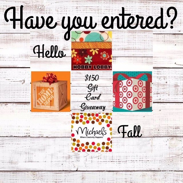 Hey guys and gals! Have you entered to win? If not go to our last post and all the instructions are there. Good luck 🍀  #giveaway #contest #teamridgid #homedepot #target #hobbylobby #michaels #cash